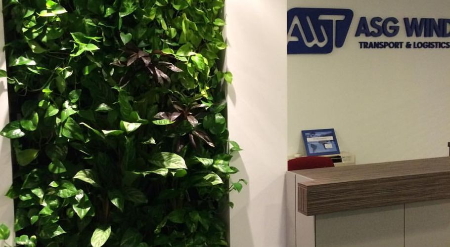 Green Walls @ ASG Wind